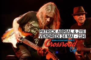 Patrick Abrial and Jye au Crossroad Café !