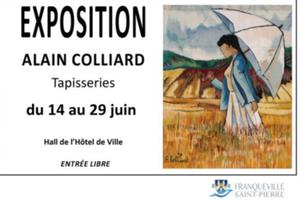 Exposition de tapisseries - Alain Colliard