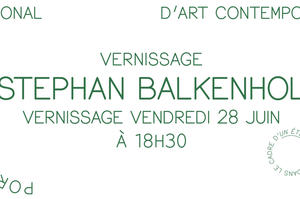 Vernissage de l'exposition Stephan Balkenhol, Le Portique