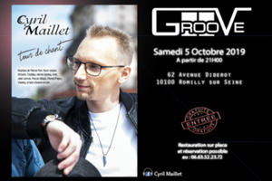 Cyril Maillet au Groove