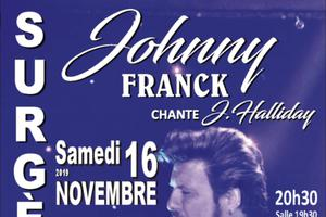CONCERT JOHNNY FRANCK CHANTE J. HALLIDAY