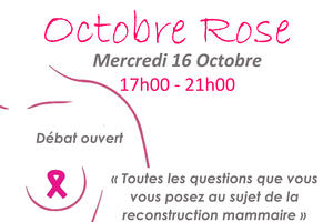 Débat / Stands d'information Octobre rose