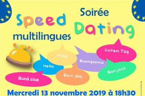Soirée Speed Dating (multilingues)