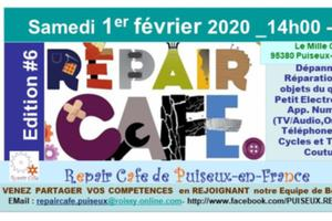REPAIR CAFE PUISEUX-EN-FRANCE  Ed #6 01//02/20