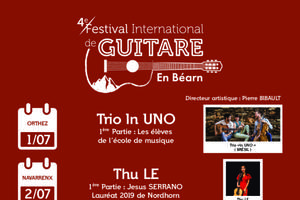 Concours & Masterclasses Festival International de guitare en Béarn 2020