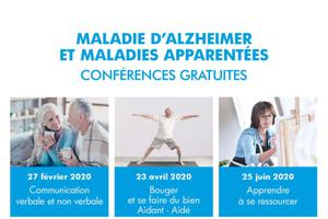 CONFERENCES MALADIE D'ALZHEIMER