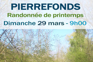 Randonnée de printemps de Pierrefonds