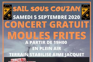 SOIREE MOULES FRITES CONCERT GEANT