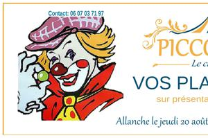 Spectacle du cirque Piccolino