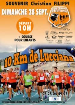 Les 10 km de Lucciana