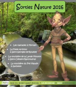 Sorties Nature 2016 -La Fosse Arthour