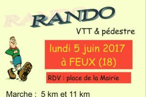 Rando VTT et Pédestre à Feux
