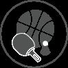 Salles spécialisées (Basketball, Handball, Gym...)