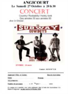 Concert : The Subway Cowboy