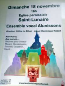 Concert - Ensemble vocal Alunissons