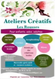 ATELIERS CREATIFS - FEES MAINS CREATIONS