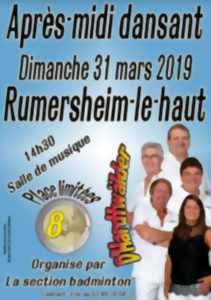 Haut Rhin     Après midi dansant   Agenda Rumersheim le Haut 68740