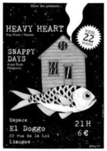 Heavy Heart + Snappy Days Public