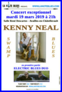 Concert KENNY NEAL & ELECTRIC BLUES DUO