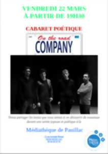 Cabaret poétique - On the road company