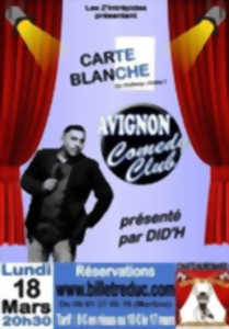 Carte blanche - Avignon comedy club