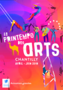 Le Printemps des Arts à Chantilly