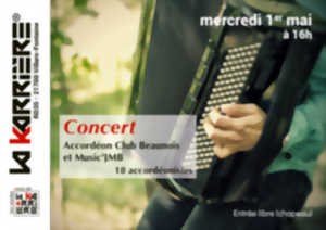 Concert Accordéons Club Beaunois & Music'JMB