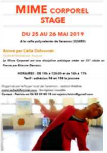 STAGE MIME CORPOREL