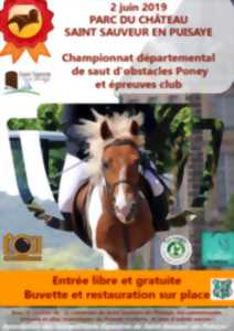 Championnat départemental de saut d'obstacles Poney