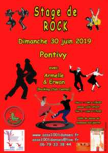 Stage de danse de rock
