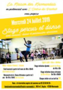 Stage Percus et Danse