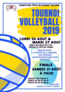 Tournoi de volley-ball