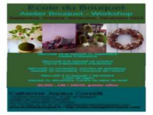 Ecole du bouquet : Atelier Bouquet Workshop