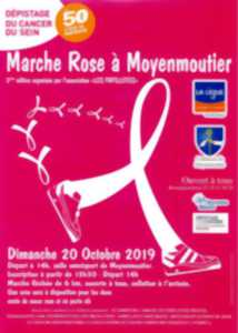 MARCHE D'OCTOBRE ROSE