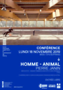 CONFÉRENCE HOMME - ANIMAL