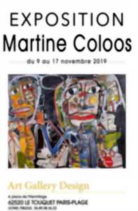 Exposition Martine Coloos - Art Gallery Design