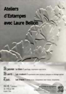 ATELIERS D'ESTAMPES AVEC LAURE BELLION