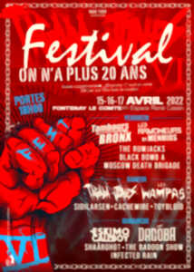 FESTIVAL ON N'A PLUS 20 ANS VI