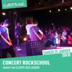 Rock School part en live