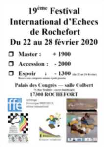 FESTIVAL INTERNATIONAL D'ÉCHECS