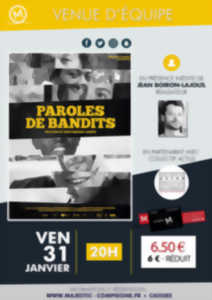 Ciné-échange : Paroles de bandits