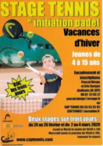 Stage Tennis et Initiation padel