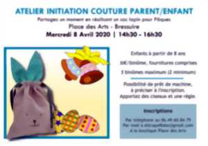 Atelier initiation à la couture parent / enfant.