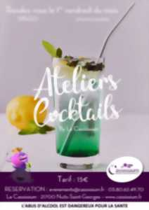 Atelier cocktails - avril 2020