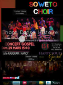 CONCERT SOWETO CHOIR ET HAPPY SOULS GOSPEL