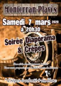 SOIRÉE DIAPORAMA & CREPES DU PHOTO CLUB DE SEISSAN