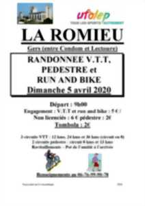REPORTE RANDONNEE VTT PEDESTRE ET RUN AND BIKE
