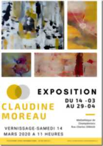 Vernissage 14.03.2020 / Exposition du 14.03. au 29.04.2020 - Claudine MOREAU -