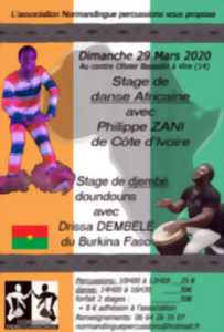 Stage percussions et danse africaine