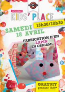 Annulation Marques Avenue Troyes - Kids'Place : Fabrication d'un lapin en origami